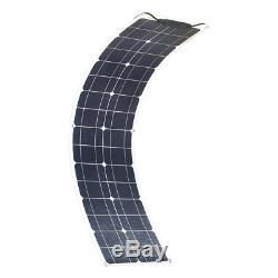 200w Souple Module Cellule Solaire Panneau Solaire Kit + 1 Kw Inverseur + 20a Mppt Contrôleur