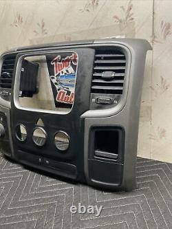 2013-2018 Dodge Ram Panneau Face Bezel/4x4/heater Control Oem 1ea951j8ac