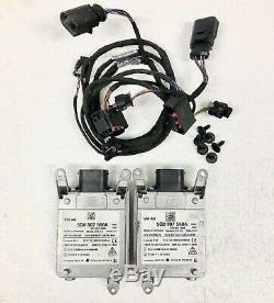 2x Oem 15-17 Audi A3 S3 Aveugle Système De Détection Dans L'avertissement Du Capteur Lane Change