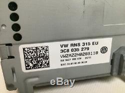 3c8035279 Navi Rns 315 Vw Polo V (6r) 1.4 Tsi Gt Bluegt