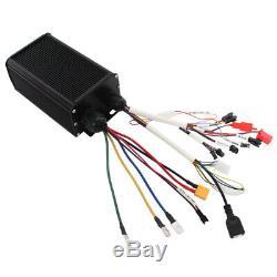 45a 1000w-2000w Onde Sinusoïdale Kit Intelligent System Controller 36v-72v Pour Ebike