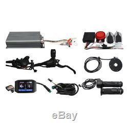 48v-72v 100a Système De Contrôle Intelligent À Onde Sinusoïdale Kit 3000w-5000w Pour Ebike