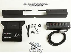 6 Commutateur Vert Spod Module Source Système De Montage Support 03-06 Jeep Wrangler Tj Lj