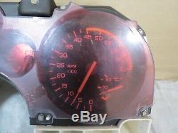 85 86 87 88 89 Chevy Camaro 115mph Tachymètre Cluster Gauge 41k Oem 25088003