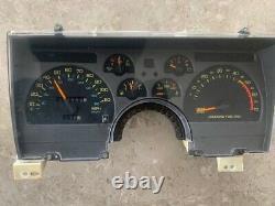 90 91 92 Chevy Camaro 110mph Speedometer Cluster Gauge Dash 43k Oem 25088982