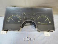 90 91 92 Chevy Camaro 110mph Tachymètre Cluster Gauge Dash 307k Oem 25088982