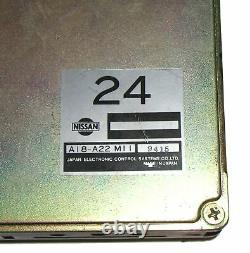 90 Nissan 300zx Z32 Na Mt Unité D'ordinateur De Moteur Oem Ecu Ecm 24 A18-a22 M11 Z320