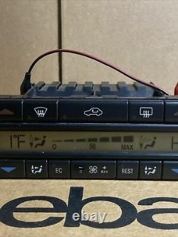 98-03 Mercedes W208 Clk430 Clk55 Amg A/c Heater Climate Control 1408302585 Oem