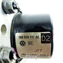 Abs Aggregat Hydraulikblock 1k0614117ac Vw Caddy 2k Golf 5 6 Seat Leon 1p Toledo