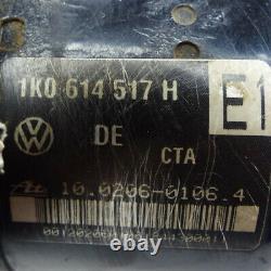 Abs Agrégat Hydraulikblock Für Esp 1k0614517h Vw Golf V 5 Touran 1t1 Audi A3 8p