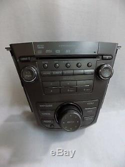 Acura MDX 2007-2009 Usine Sat Ready 6 Lecteur DVD Radio CD Oem