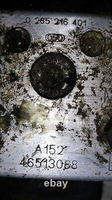 Alfa Romeo 156 2,5 V6 24v Abs Hydraulikblock Steuergerät 0273004383