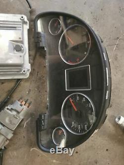Audi A4 B6 B7 2.0tdi140bhp Moteur Ecu Set Bre Moteur Ecu 03g906016se / 8e0907279m