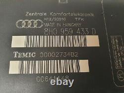 Audi A4 Cabriolet Convertible Comfort Convenience Module 8h0959433d