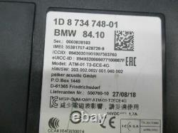 Bmw 3 Touring (f31) 318i Steuergerät 8734748 Telematik Atm-01 T2-ece-4g