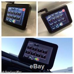 Circuit 8 Système Spod Se Avec Écran Tactile Module 07-18 Jeep Wrangler Jk Illimités