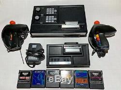 Colecovision Console Withexpansion Module, 6 Jeux, Et Super Contrôleurs D'action