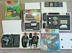 Colecovision Lot Console, Module D'extension N ° 1, N ° 2, Jeu De Contrôleurs Super Action
