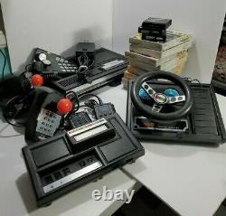 Colecovision System Lot Expansion Module 1 & 2. Super Action Controllers 12 Jeux