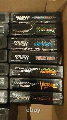 Colecovsion Avec Module Atari, Contrôleur À Rouleaux + 4 Contrôleurs Et Jeux +plus