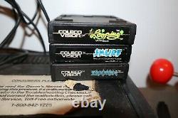Console De Jeu Vidéo Colecovision Système Atari Expansion Module Roller Controller