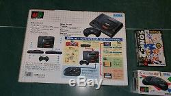 Console Mega Drive Asiatique Md1 Pal-1 Plus Des Jeux En Boîte, Contrôleur, Module V. G. C