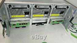 Dell Equallogic Ps6500 Iscsi San Storage System 2 X Module De Commande 7 3x Psu Non Hd