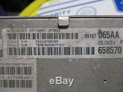 Dodge Ecm Engine Module De Contrôle Informatique Pcm Ecu Unité Brain Power Box 3.5l