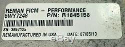 Flight Systems 58 Volt Ficm 2003 04 05 06 2007 Ford 6.0l Diesel 4 Broches R1845158