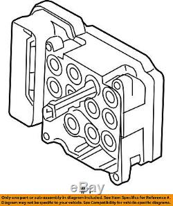 Ford Oem Abs Antiblocage Système De Freinage-control Module Am6z2c219b