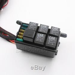 Jeep Jk 4rocker Kit Kit Module Électronique À 6 Relais Système De Contrôle Du Faisceau Wire