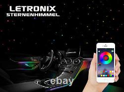 Letronix Rgb Led Auto Sternenhimmel Sterne Lichtleiter Himmel Mit App Steuerung