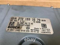Mercedes Benz Oem Clk350 Slk350 Moteur Moteur E350 Dme Ordinateur Ecum Ecm 06-09