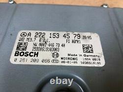 Mercedes Benz Oem Slk280 C280 Moteur Moteur Dme Ordinateur Ecu Ecm 3.0l V6 06-08