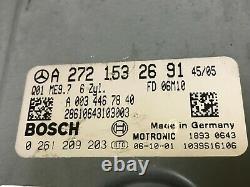 Mercedes Benz Oem W164 W251 R350 Ml350 Moteur Moteur Dme Ordinateur Ecu Ecm 06-09