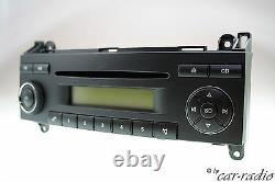Mercedes Originale Son 5 Be7076 Becker W906 W639 W169 Autoradio CD Radio W245