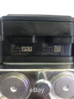 Module De Commande Du Système De Freinage Antiblocage Abs Abs Chrysler Oem 68214374aa