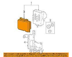 Module De Contrôle Du Système De Freinage Antiblocage Abs Oem Gm 20896914