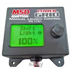 Msd 7751 Launch Control Module Pour Power Grid System
