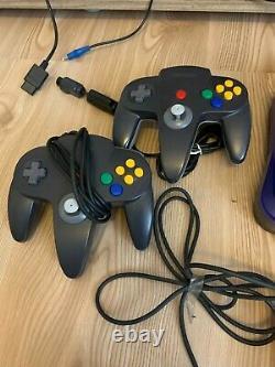 Nintendo 64 Konsole Mit Rgb Mod Und Everdrive Modul Und 5x Controller Nus-001
