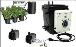 Nouveau Ebb & Gro Controler Module Hydroponique Horticulture 2 Pompes Tuyauterie