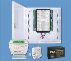 Nouvel Elk M1 Gold System 3 Boitier Avec Transformateur Trg1640, Sans Pile Kp Ni 8 Ah