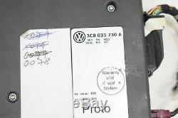 Oem Vw Golf Plus Mk6 Bluetooth Interface Unité De Commande Ecu Module 3c8035730a