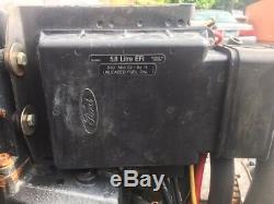 Omc 1995 5.8 L Efi Système Efi Complet, Faisceau De Câbles, Module De Commande, Dist, Pile À Combustible
