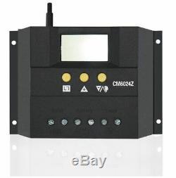Panneau 1200w Système Solaire Kit 100w Module Contrôleur 3000w Onduleur Connecteur