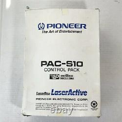 Pioneer Laseractive Sega Genesis CD Control Pack Pac-s10 Module Non Testé