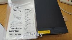 Pioneer Laseractive Sega Megadrive CD Control Pack Pac-s1 Module Complet En Boîte