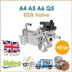 Pour Audi A4 A5 A6 Q5 Valeo Egr Vanne Avec Refroidisseur Egr + Vide Bypass Nouveau
