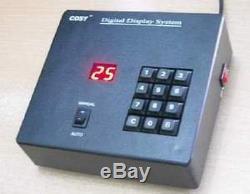Prenez Un Système De Numérotation, Système De Gestion De File D'attente De Compteurs De Tours Del, 6 Chiffres Élevés