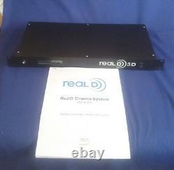 Reald 3d Cinema System Of Cinema Control Module & Cinema Polarized Zscreen Nouveau